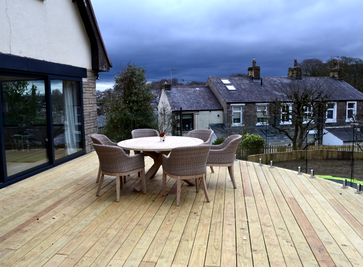 timber decking installation gallery one