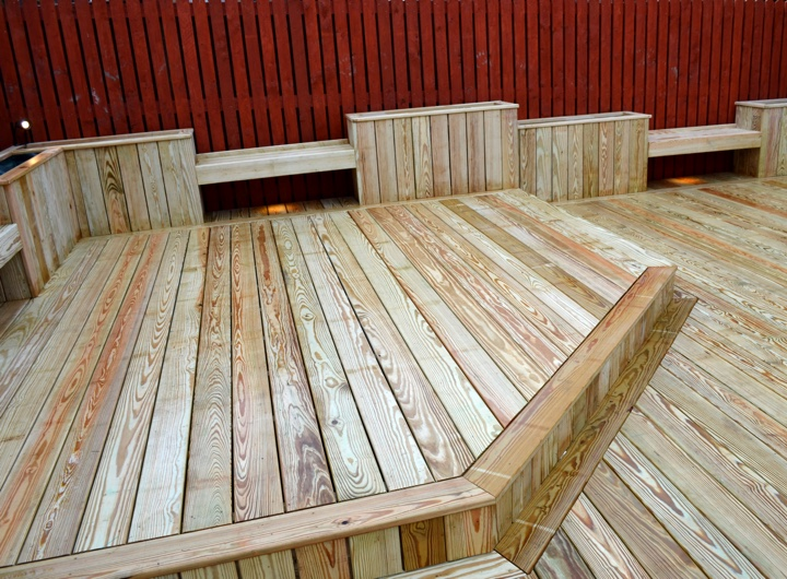 timber decking installation gallery two